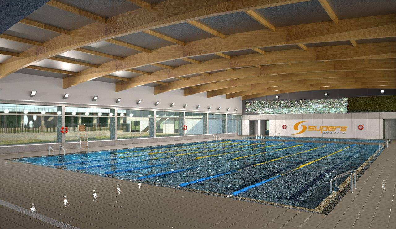 Piscina municipal cubierta centro deportivo supera for Piscina de abastos