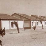 Edificios de Sancti Petri, fotografía antigua