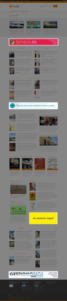 Publicidad en la sección de Noticias
