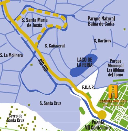 Ruta de las salinas, Chiclana